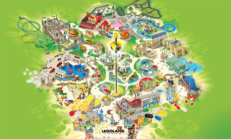 名古屋樂高樂園地圖