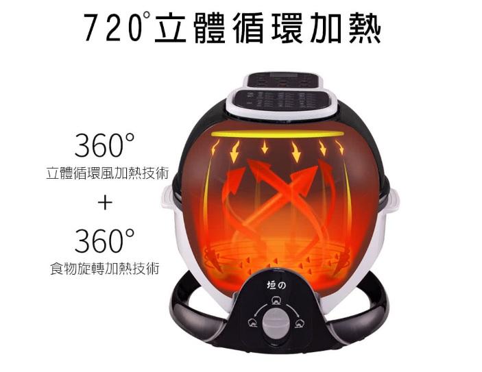 垣戊720度循環加熱