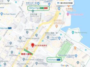 新加坡燒烤一條街地圖