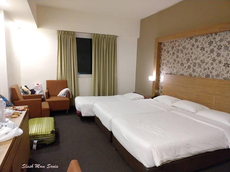 Strand Hotel三人房