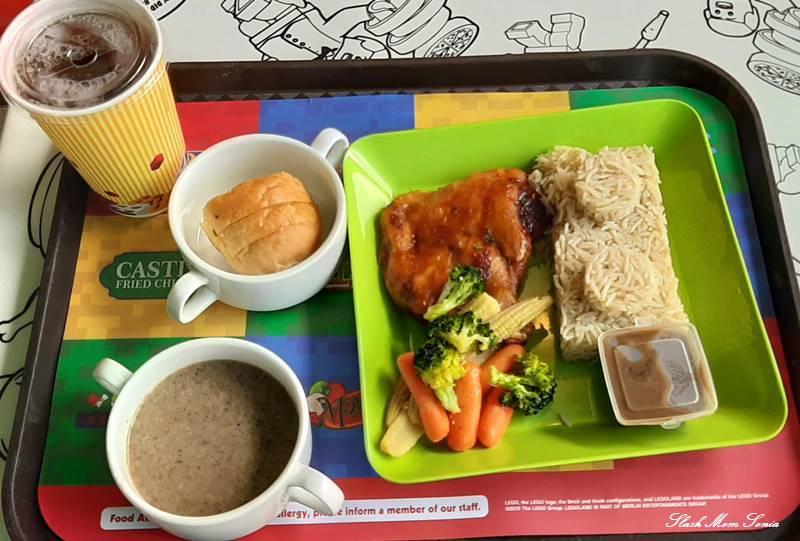 馬來西亞樂高樂園餐點