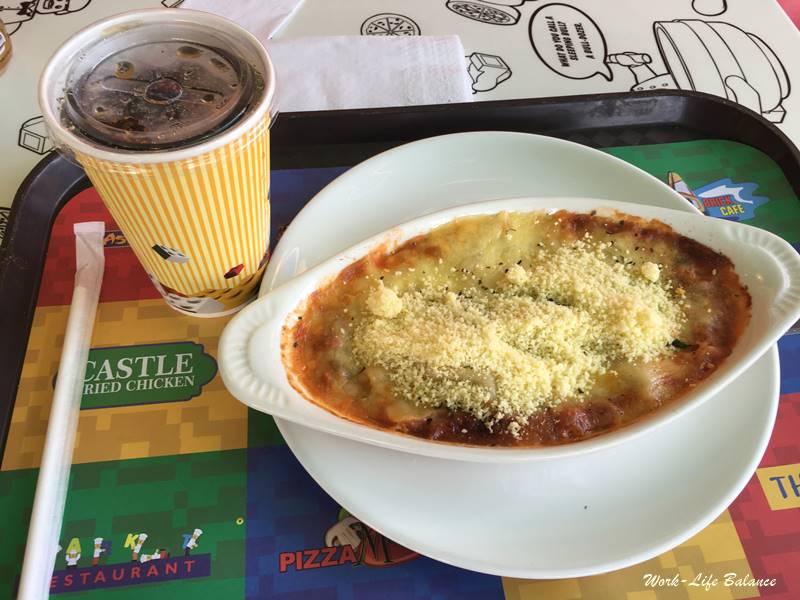 馬來西亞樂高樂園焗烤麵
