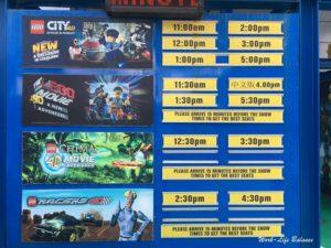 馬來西亞樂高樂園4D電影時間表