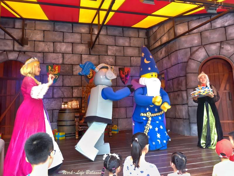 馬來西亞樂高樂園城堡舞台